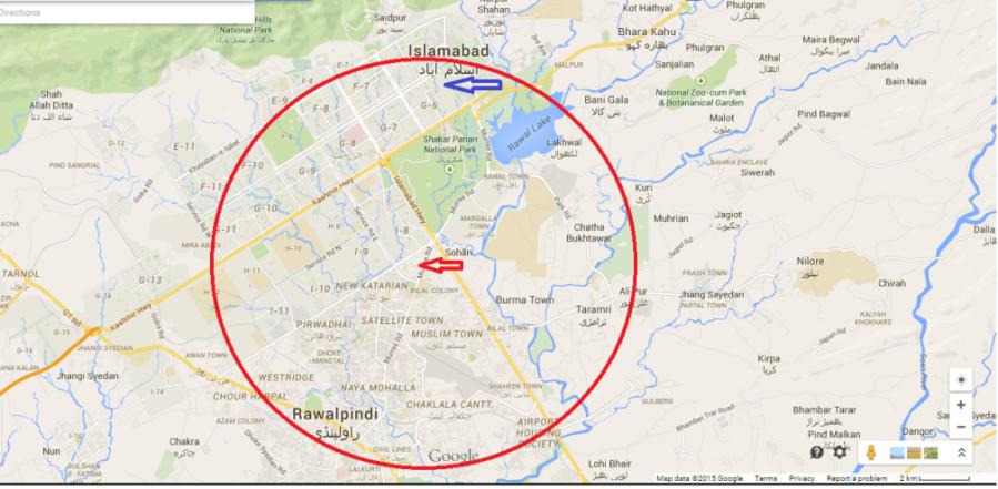 Ojhri Map